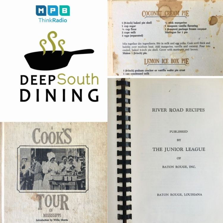 cover art for Deep South Dining: Community Cookbooks