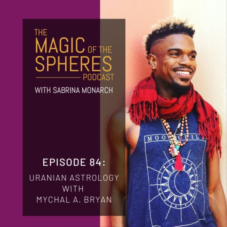 cover art for Uranian Astrology with Mychal A. Bryan