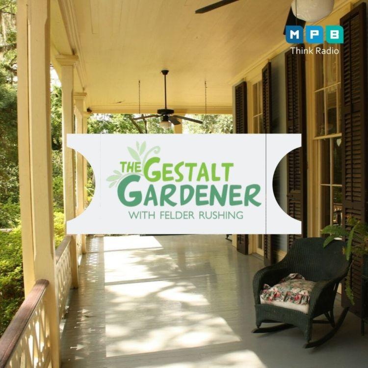 cover art for The Gestalt Gardener:  Front Porch Gardening