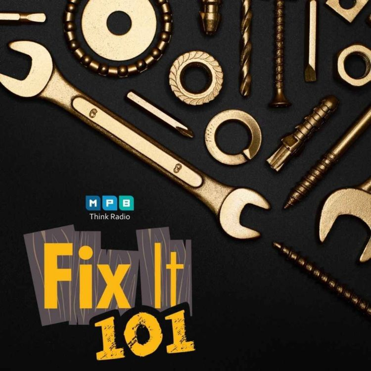 cover art for Fix It 101   Tools for the Season