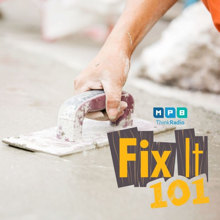 cover art for Fix It 101 | Pouring Concrete