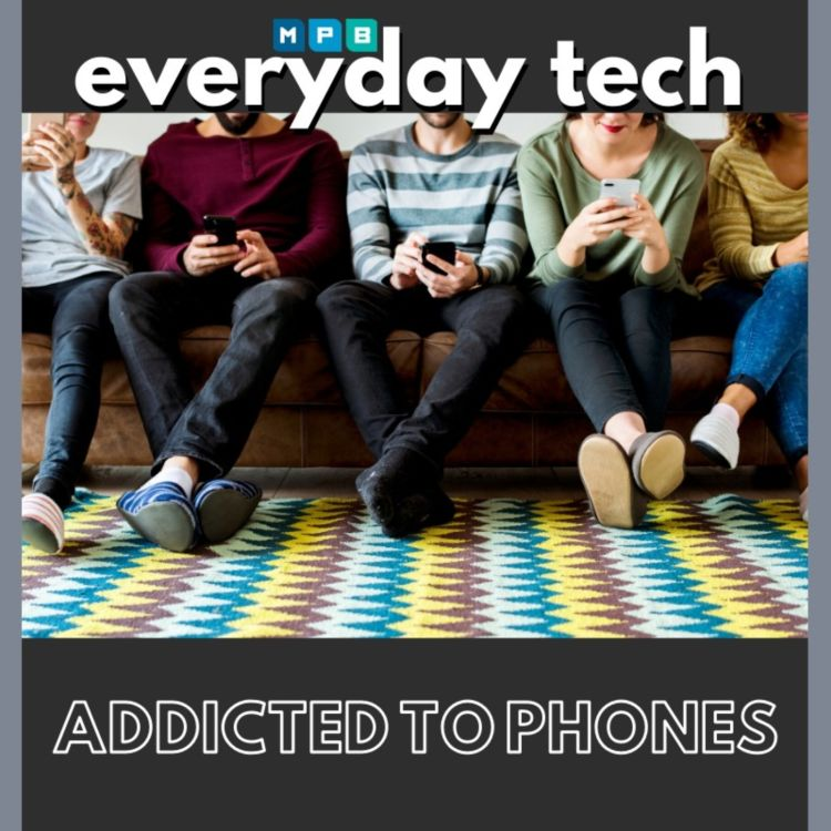 cover art for Are We Addicted To Cell Phones?
