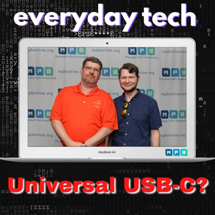 cover art for Everyday Tech - Universal USB-C?