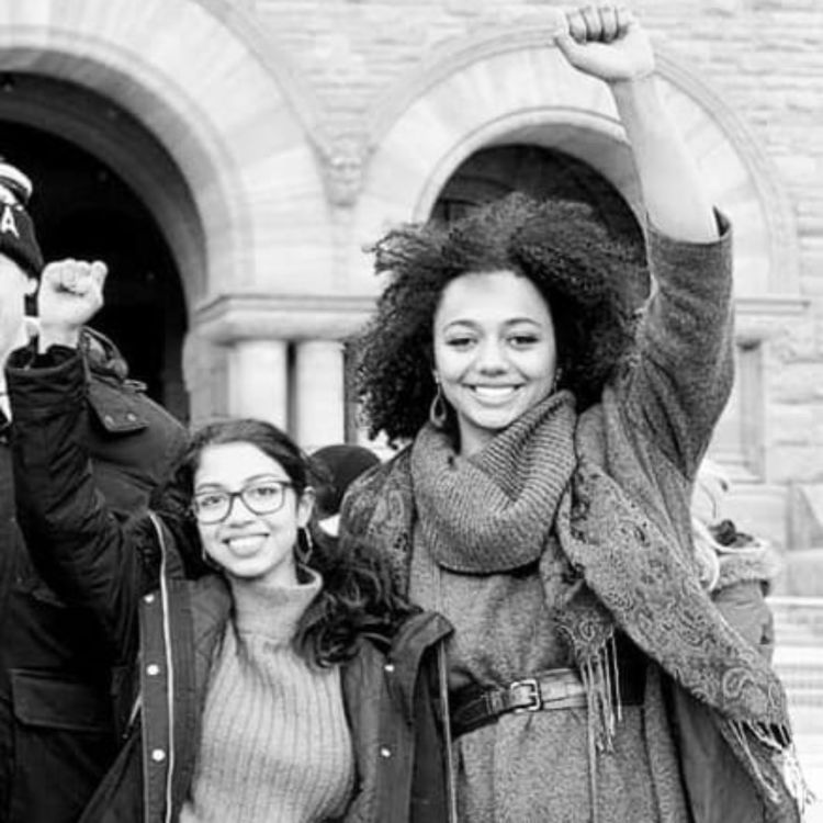 cover art for e.310 - #WeTheStudents Won't Back Down: Hands Off Post-Secondary Funding ft. Susi Hermanns and Chitta Chowdhury