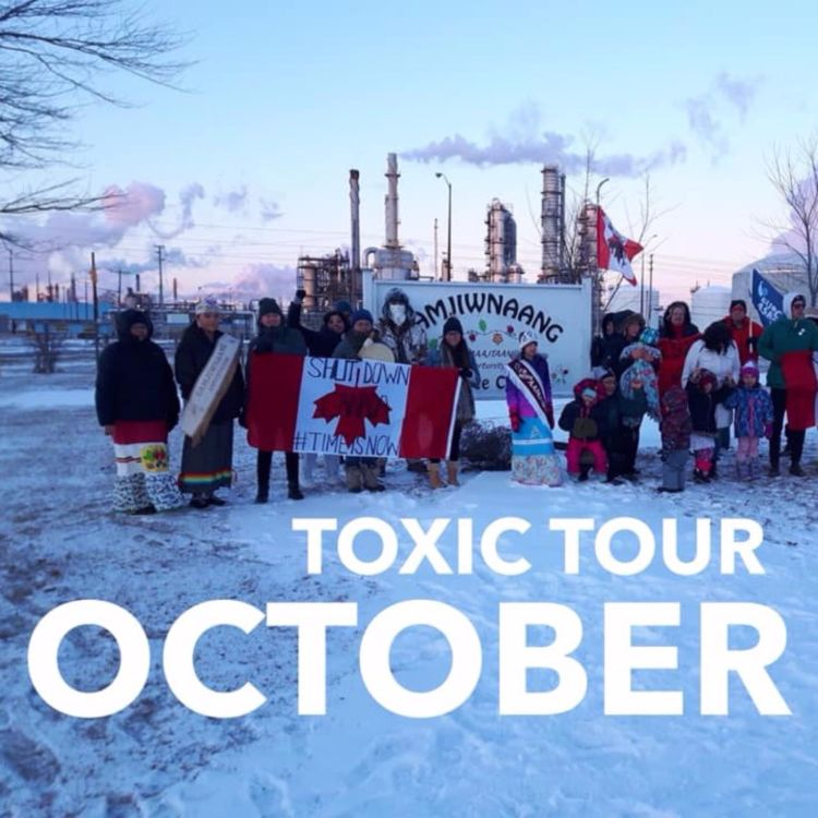cover art for e.404 - Canada's Chemical Valley: 2019 Toxic Tour ft. Beze Gray