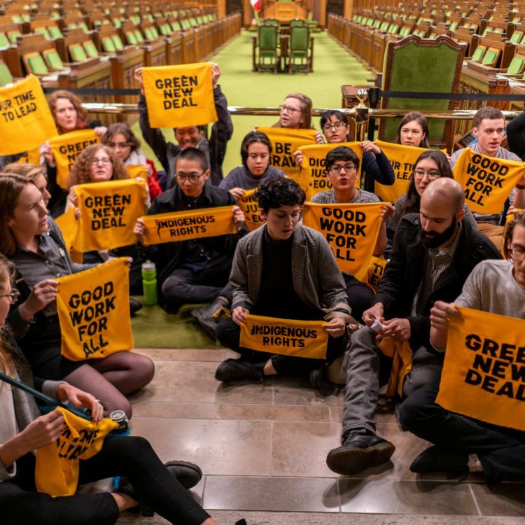 cover art for e.413 - Climate Justice Activists Arrested on Parliament Hill