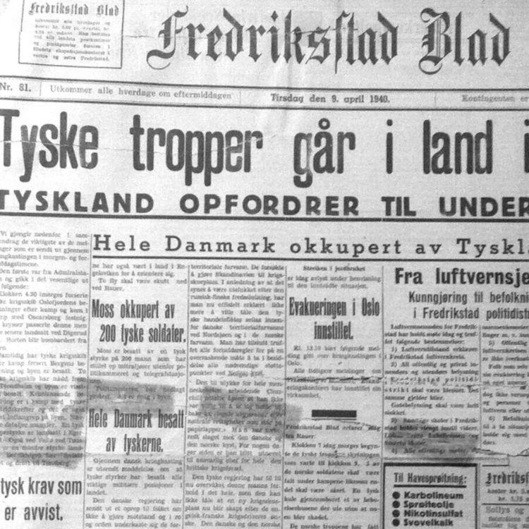 cover art for Krigen i Fredrikstad, Del 1: Krigens første skudd