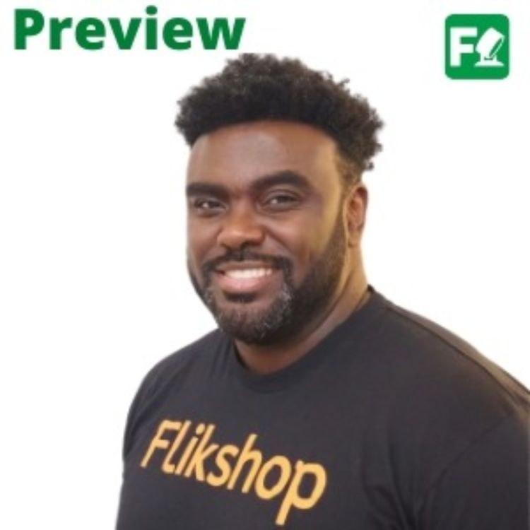 cover art for PREVIEW: Marcus Bullock, Flikshop
