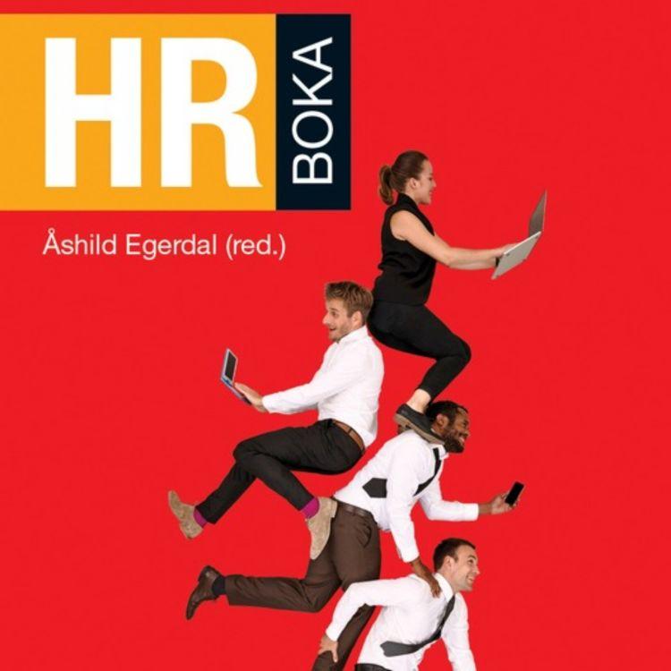 cover art for HR-boka med Åshild Egerdal
