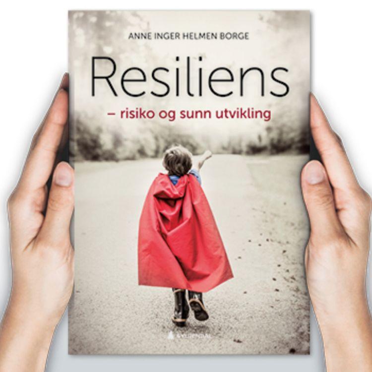 """cover art for """"Resiliens"""" med Anne Inger Helmen Borge"""