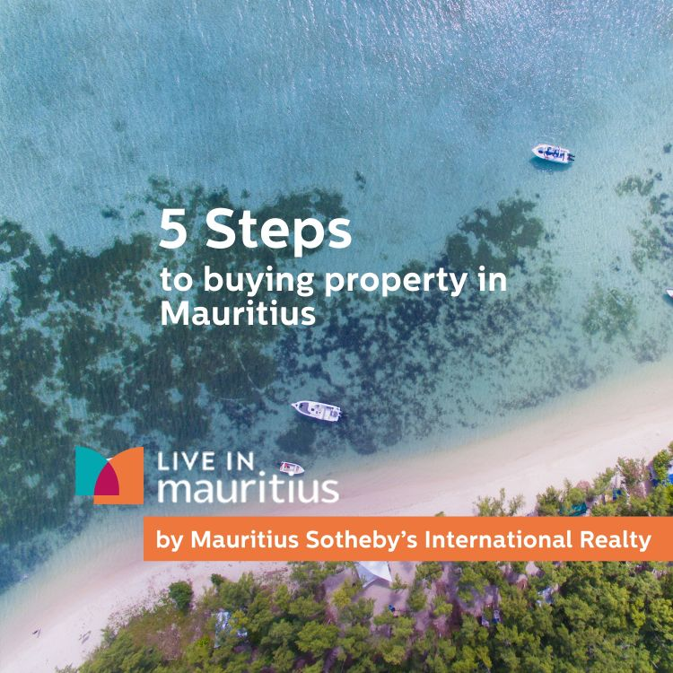 cover art for 5 Steps to buying property in Mauritius