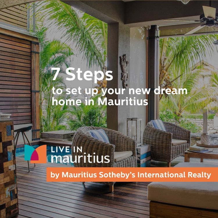 cover art for Setting up your new dream home in 7 steps in Mauritius