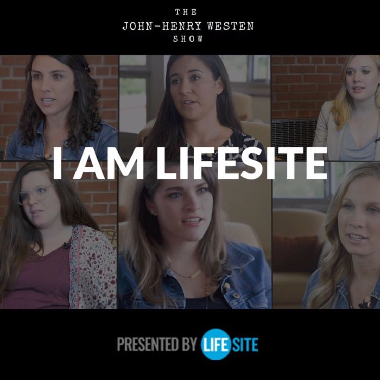 cover art for I AM LIFESITE: The heroic women many love to hate