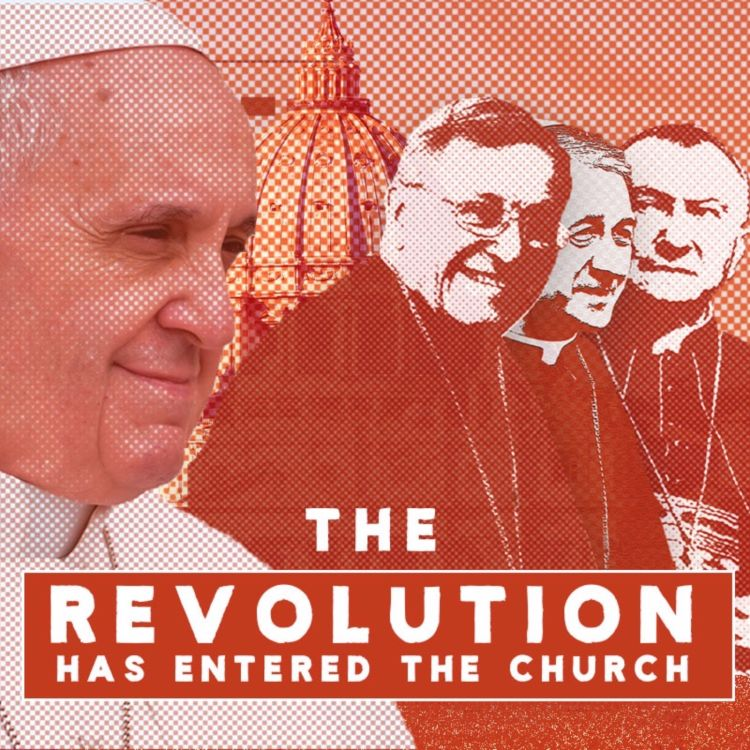 cover art for The revolution has entered the Church