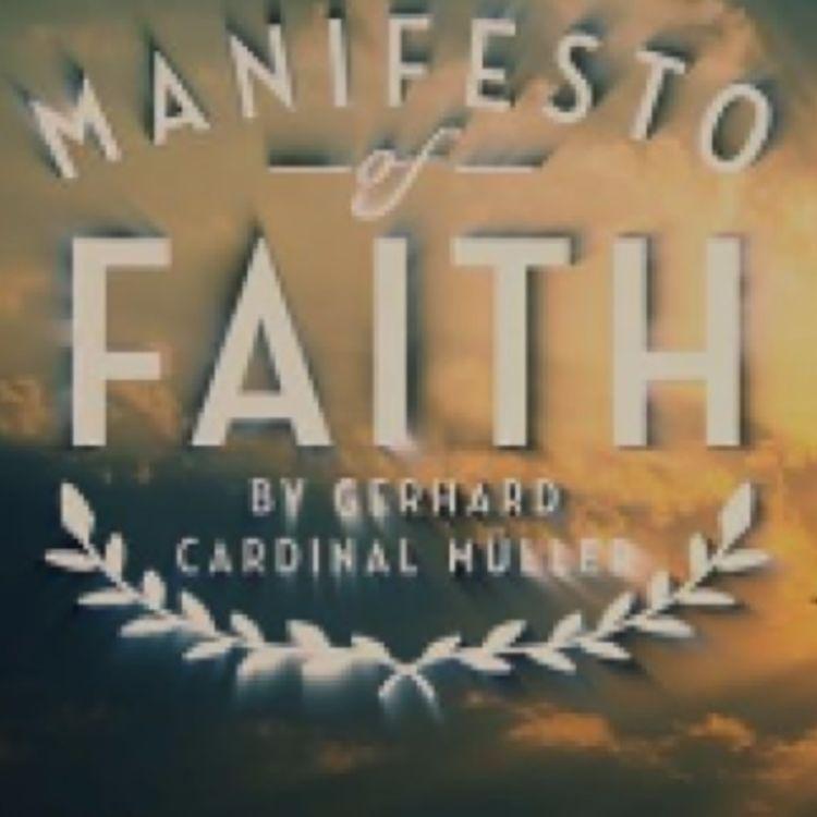 cover art for Cardinal Muller's Manifesto of Faith film illustrates 'dire crisis' in Church