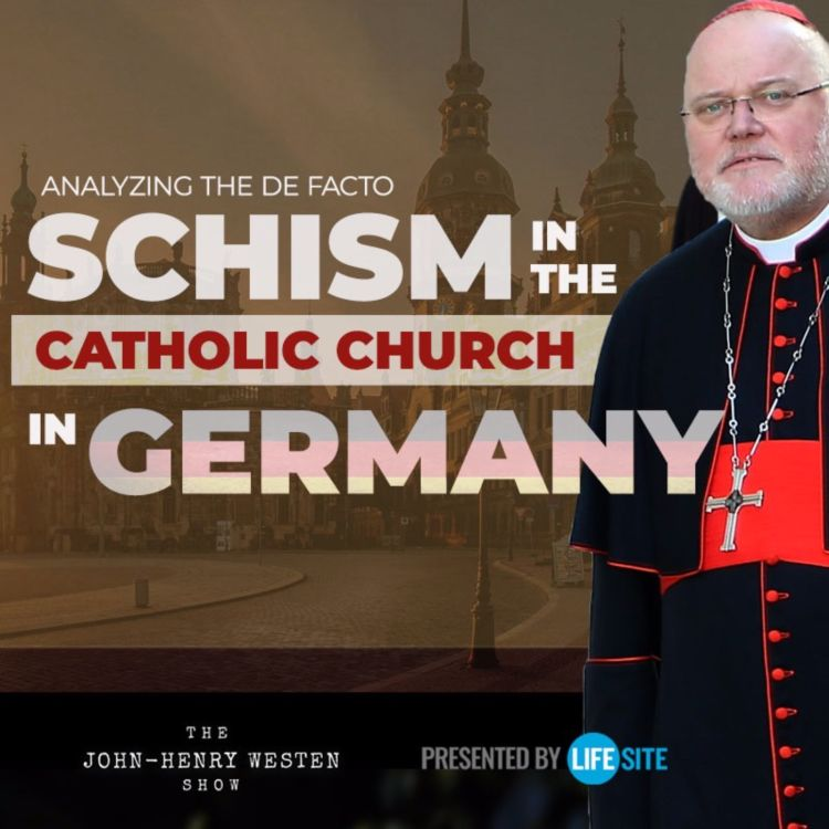 cover art for Analyzing the de facto schism in the Catholic Church in Germany
