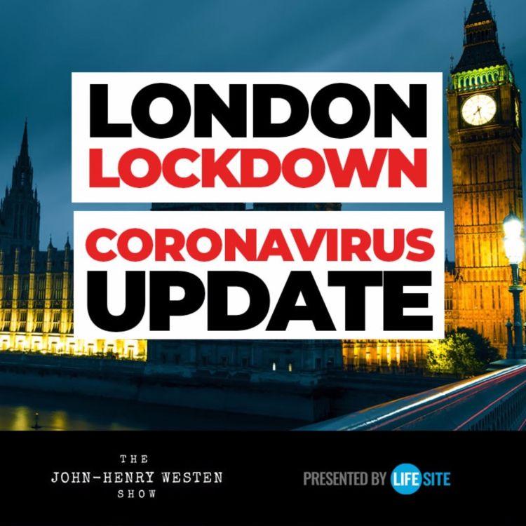 cover art for On the ground update from coronavirus lockdown in London