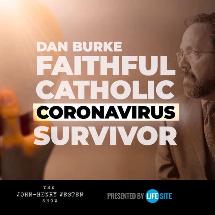 cover art for Dark night of the soul: Faithful Catholic escapes death from coronavirus