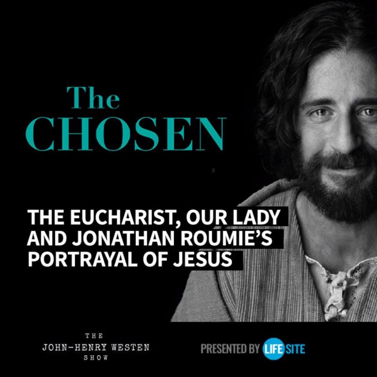 cover art for An interview with The Chosen's 'Jesus' actor - a devout Catholic