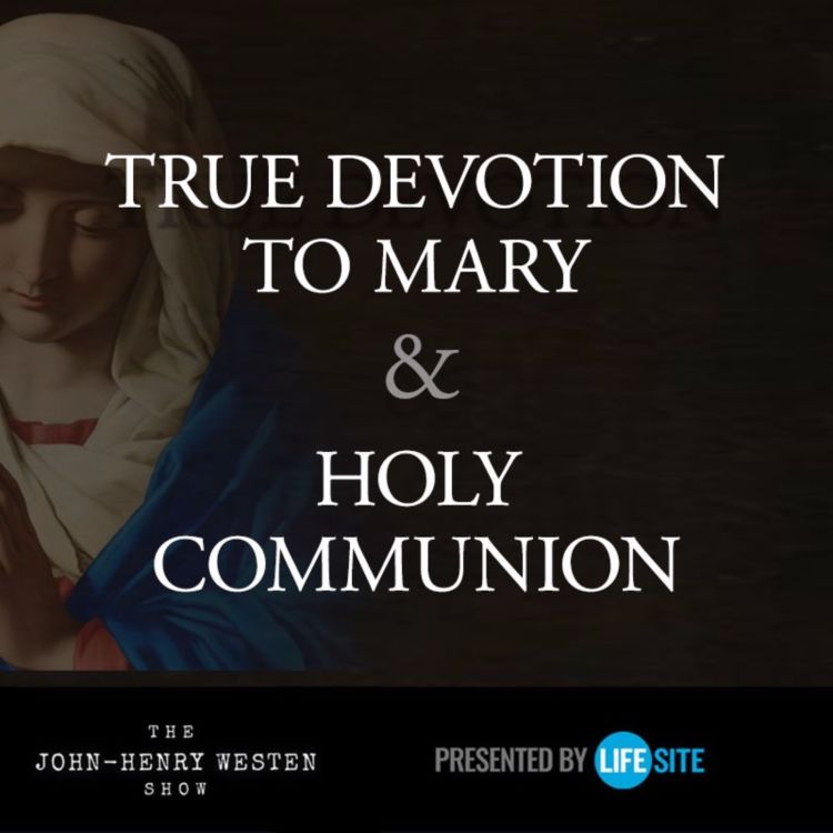 cover art for St. Louis De Montfort's little known method of reception of Holy Communion changed my life