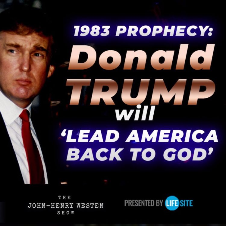 cover art for President Trump will 'lead America back to God,' according to 1983 prophecy