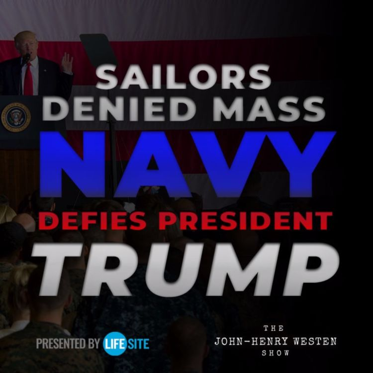 cover art for Navy bans Catholic sailors from Mass, defying President Trump's orders