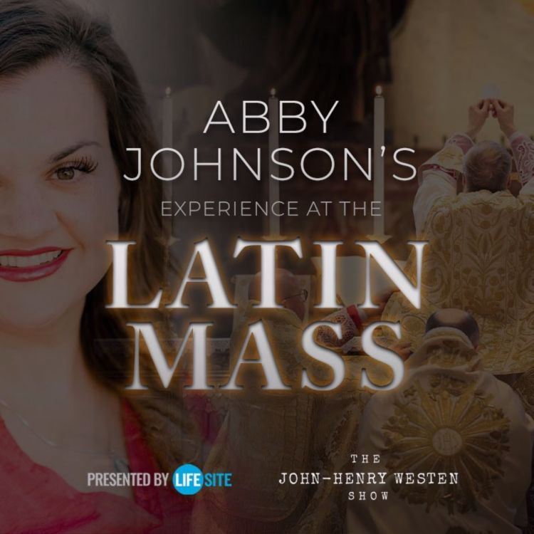 cover art for Abby Johnson explains why she attends Latin Mass and receives Communion on the tongue