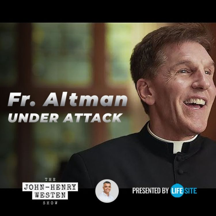 cover art for Fr. Altman says his office received 'vile, despicable' phone calls after viral video on Democrats