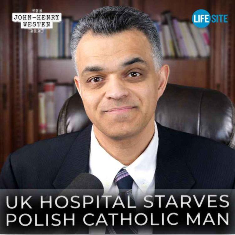 cover art for Alfie Evans all over again as UK hospital starves Polish Catholic man