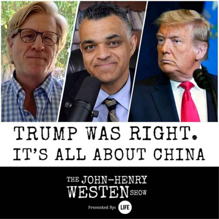 cover art for Trump was right. It's all about China