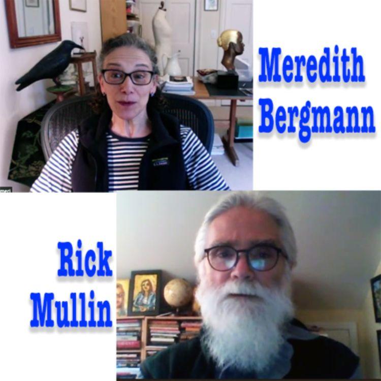 cover art for Bergmann & Mullin: 2 Poets :: 1 Sculptor / 1 Painter