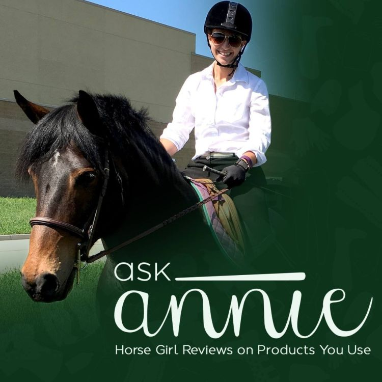 cover art for #AskAnnie - Episode 27: Evolution Leather Bit Leather Full Cheek Pinchless Snaffle Bit