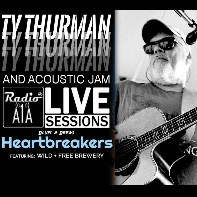 cover art for RadioA1A Live Session Presents Ty Thurman with Special Guest Liz Thurman