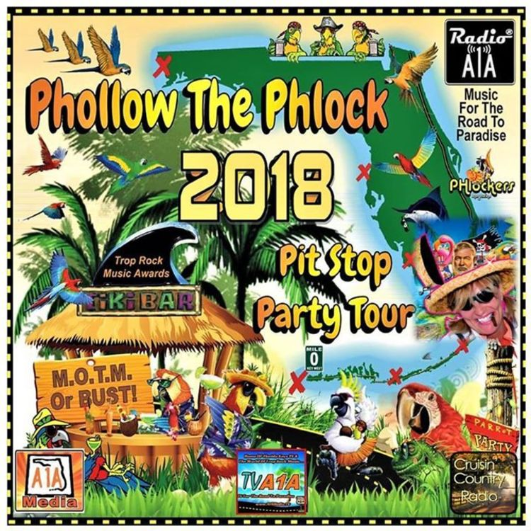 cover art for The Radio A1A 2018 Phollow the Phlock Rundown