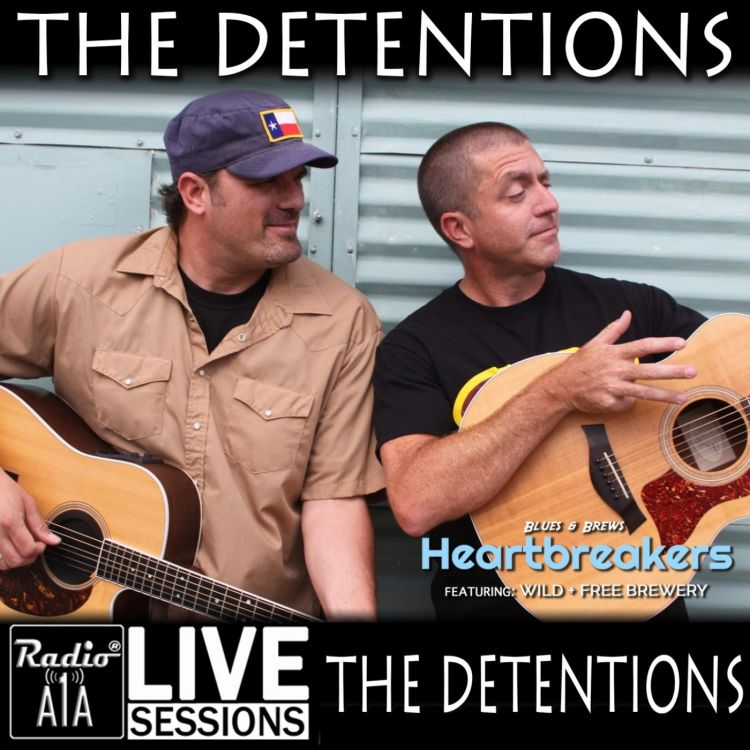 cover art for RadioA1A LIVE Sessions Presents, The Detentions