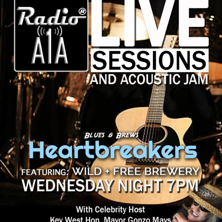 cover art for RadioA1A LIVE Sessions Presents The Steve Venini Band.