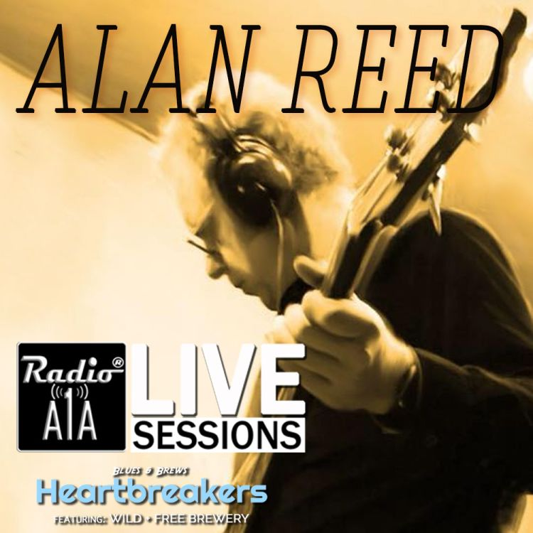 cover art for RadioA1A Live Session Presents Alan Reed