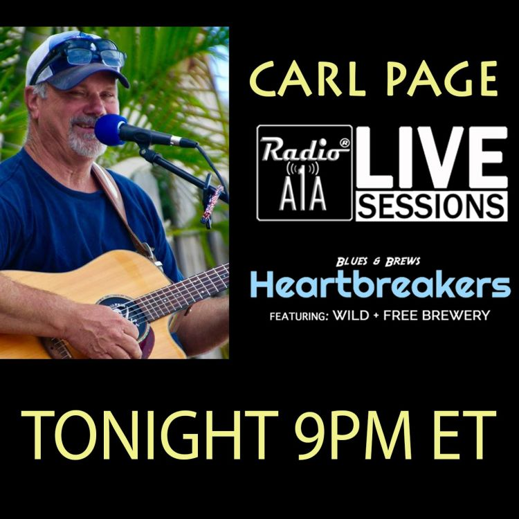cover art for RadioA1A LIVE Sessions Presents Carl Page