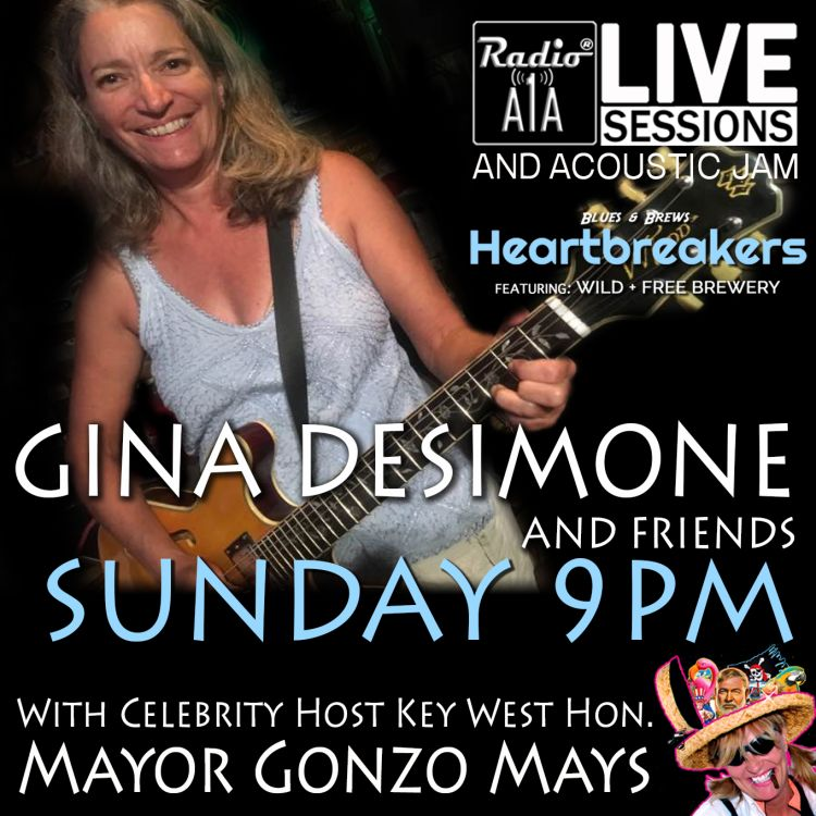 cover art for RadioA1A LIVE Sessions Presents Gina DeSimone