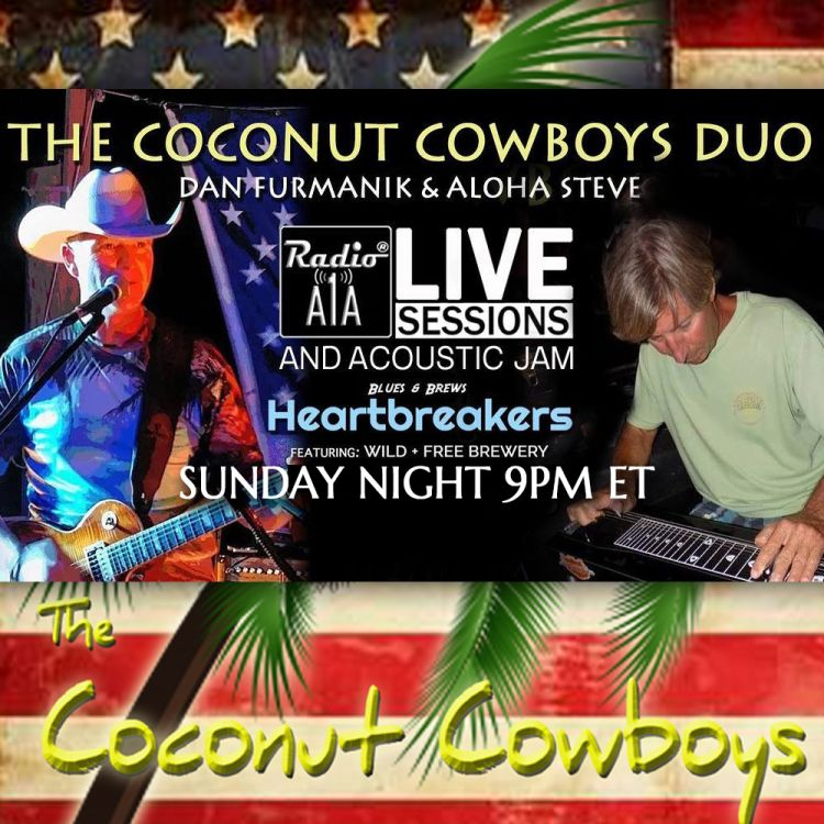 cover art for RadioA1A LIVE Sessions Presents The Coconut Cowboys