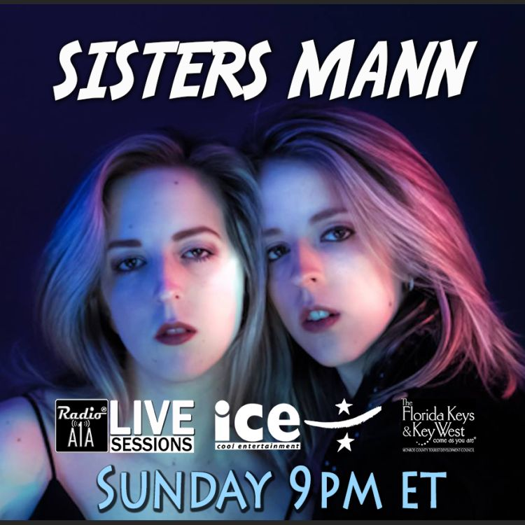 cover art for RadioA1A LIVE Sessions Presents Sisters Mann