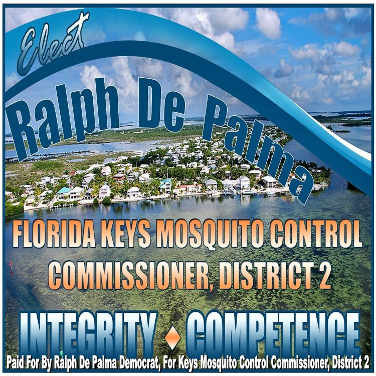 cover art for Ralph De Palma For Florida Keys Mosquito Commissioner District 2