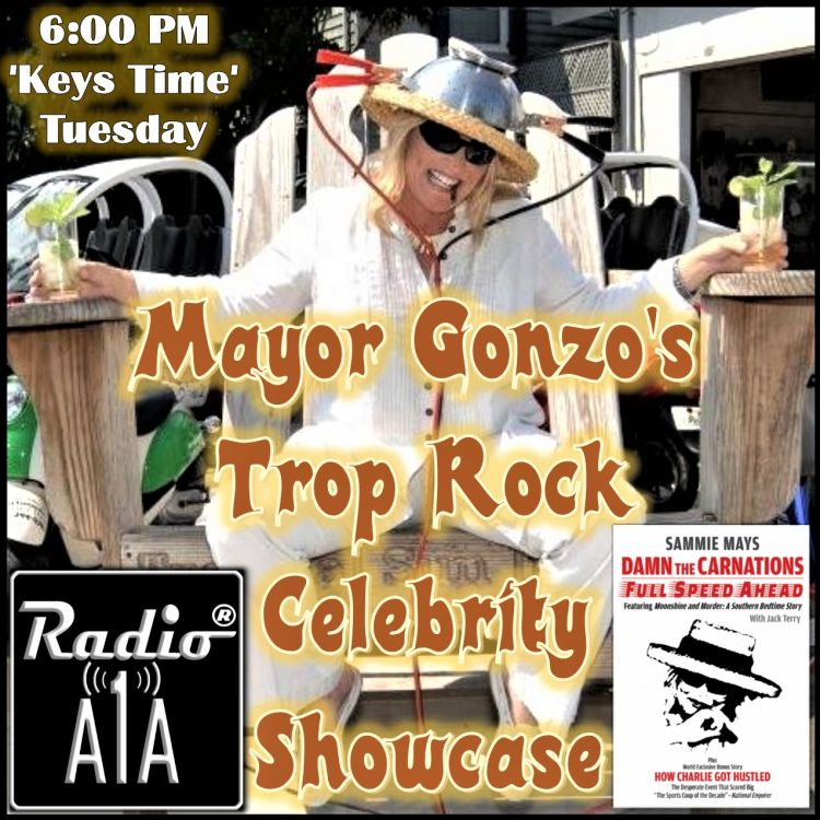 cover art for Mayor Gonzo's Trop Rock Celebrity Showcase Episode 1