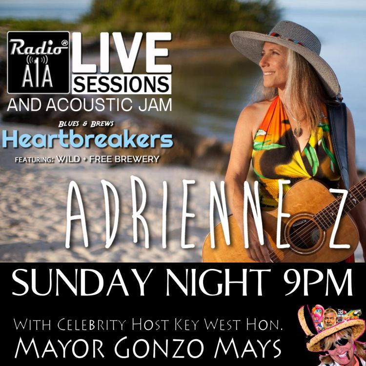 cover art for RadioA1A Live Session Presents Adrienne Z.