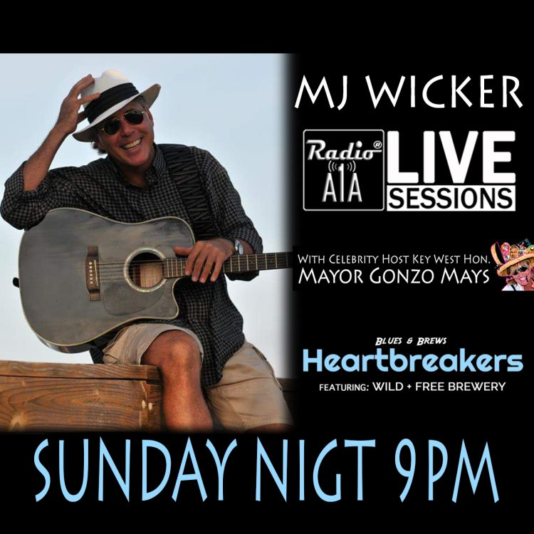 cover art for RadioA1A LIVE Sessions Presents M.J. Wicker
