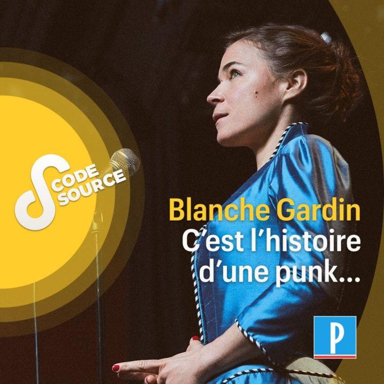 cover art for Blanche Gardin, c'est l'histoire d'une punk...
