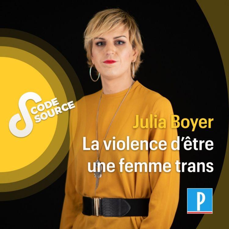 cover art for Julia Boyer, la violence d'être une femme trans