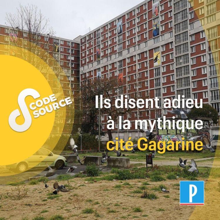 cover art for Ils disent adieu à la mythique cité Gagarine