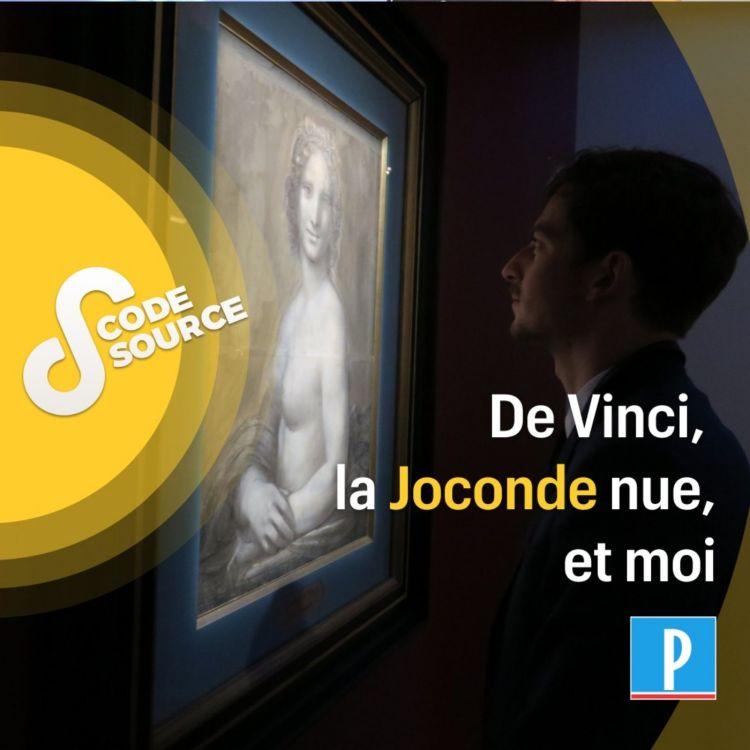 """cover art for De Vinci, """"la Joconde nue"""" et moi"""