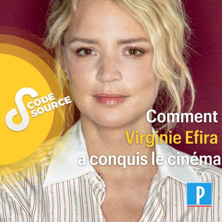 cover art for Comment Virginie Efira a conquis le cinéma